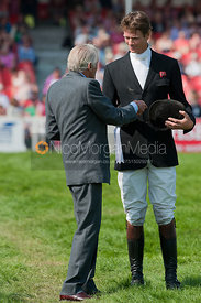 William Fox-Pitt and The Duke of Beaufort, Mitsubishi Motors Badminton Horse Trials 2011.