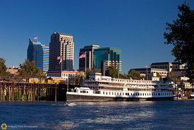 Delta King and the Sacramento Skyline #7
