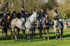 Second horses at Aswarby - The Belvoir at Burton Pedwardine