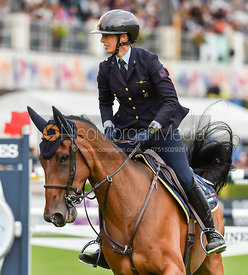 Giulia Martinengo Marquet and FINE EDITION - FEI Nations Cup, Dublin Horse Show 2017