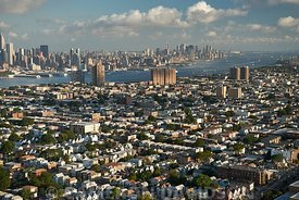 Aerial USA New York New York City