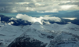 Purcell Mountain Range Kootenay BC