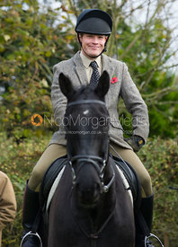 Members of the Household Cavalry - The Quorn Hunt at John O' Gaunt 9/11/12