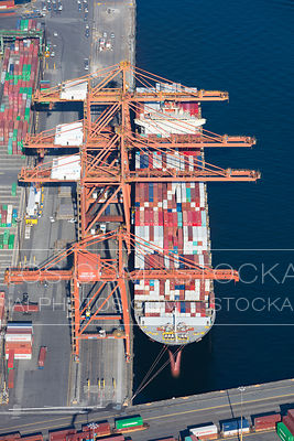 Container Ship at Vanterm