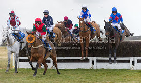 Race 1 (Novice Riders) - The Belvoir at Garthorpe 30th March 2013.