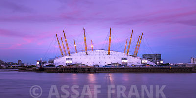 Millennium Dome O2 photos