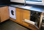 Fitted Appliances in Apartment Kitchen