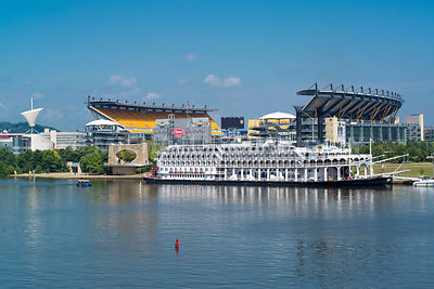 American Queen and Heinz Field- Pittsburgh, PA