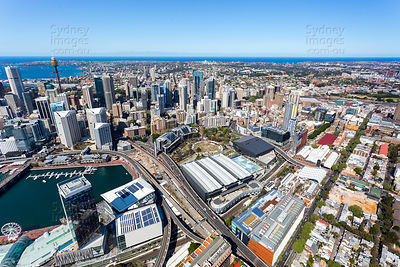 Darling Harbour and Ultimo