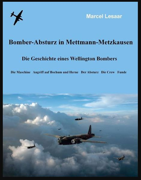 Bomber crash in Mettmann-Metzkausen
