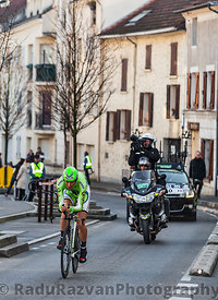 The Cyclist Ivan Basso- Paris Nice 2013 Prologue in Houilles
