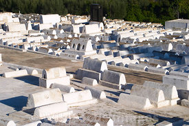 The Jewish Cemetary of Fes, Morocco; Landscape