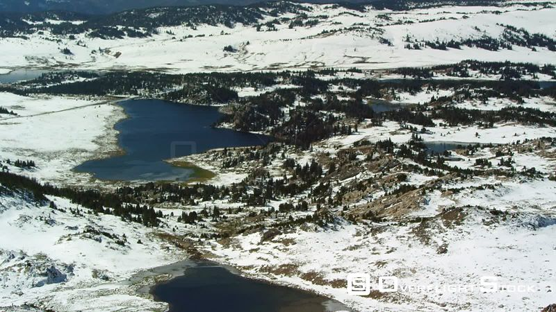 Long Lake sits at 9,000 feet of elevation in the heart of the Beartooth mountain range near Yellowstone National Park
