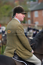 Tim Hercock MFH - The Cottesmore Hunt at Tilton on the Hill 10/11/12