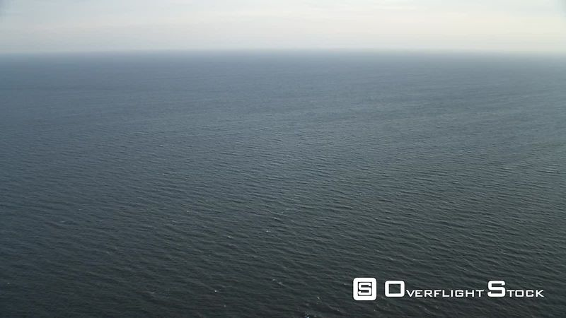 Over open ocean off the New Jersey coast at 1000 feet elevation. Shot in November