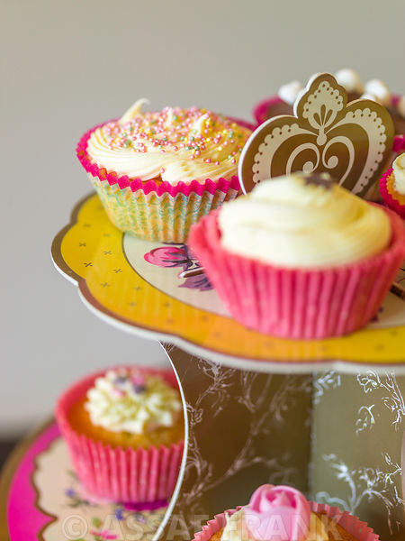 Assaf Frank Photography Licensing Beautifully Decorated Cupcakes