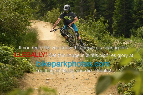 Saturday July 21st Aline First Hit bike park photos