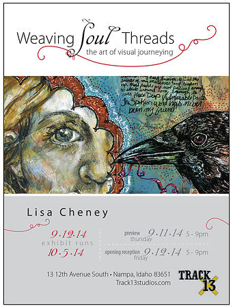 "Lisa Cheney / ""Weaving Soul Threads"" photos"