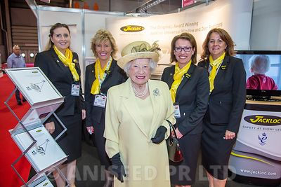 'Her majesty' at The FIT SHOW, NEC