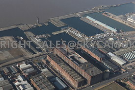 The Tobacco Warehouse and Stanley Docks and Collingwood Docks Liverpool Water Vauxhall Liverpool
