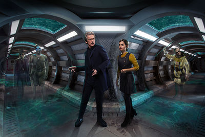 Doctor Who Series 9 publicity still
