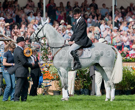 Mark Todd and NZB Land Vision, Badminton Horse Trials 2011.