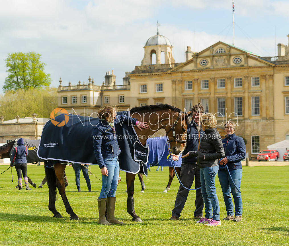 Team Willa Newton - Dressage - Mitsubishi Motors Badminton Horse Trials 2017