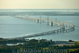 Aerial MarylandChesapeake Bay Bridge