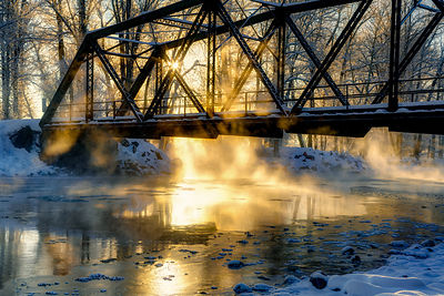Axtel Bridge Sunrise