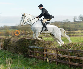 jumping a hedge on Deane Bank