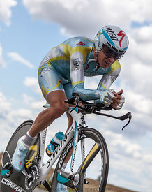 The Kazakh Cyclist Fofonov Dmitriy - Tour de France 2012