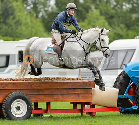 Angus Smales and TITUS SEAQUEL - Rockingham International Horse Trials 2017