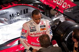 Lewis Hamilton (GBR), McLaren MP4-23 Launch, Stuttgart, 7th January, 2008