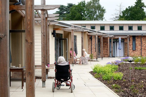 Marie Curie Hospice, Solihull, JDDK Architects