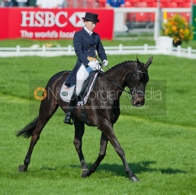 Jennifer Wooten (USA) and The Good Witch - Dressage