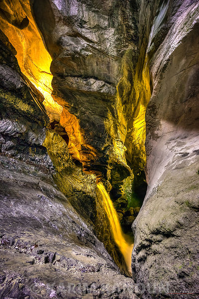 Inside the cave - Lauterbrunnen