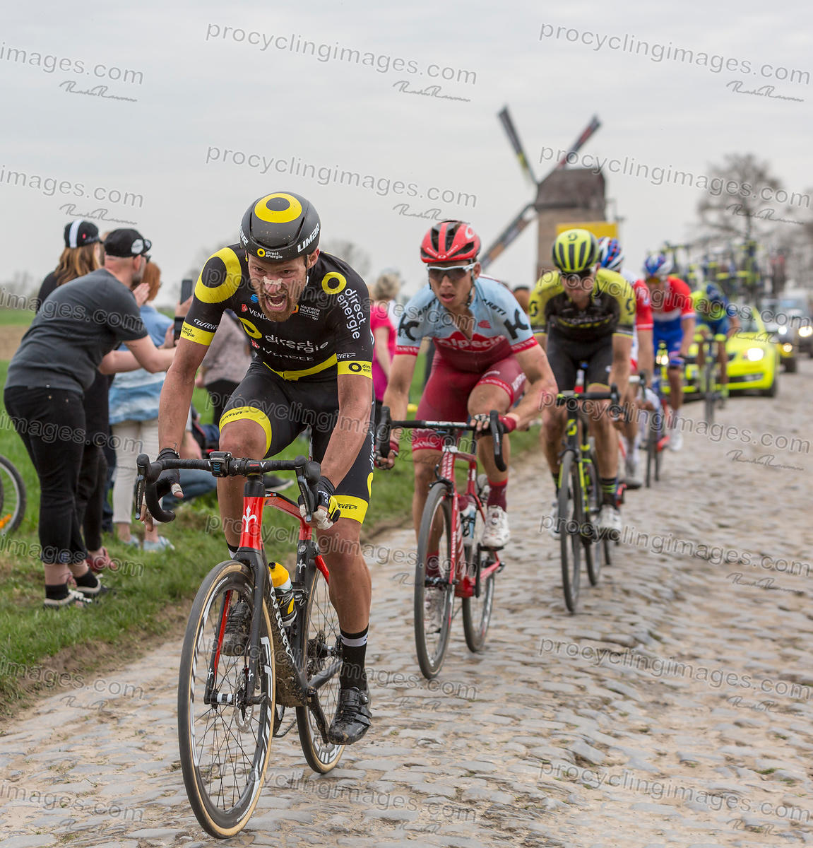 The Cyclist Adrien Petit - Paris-Roubaix 2018