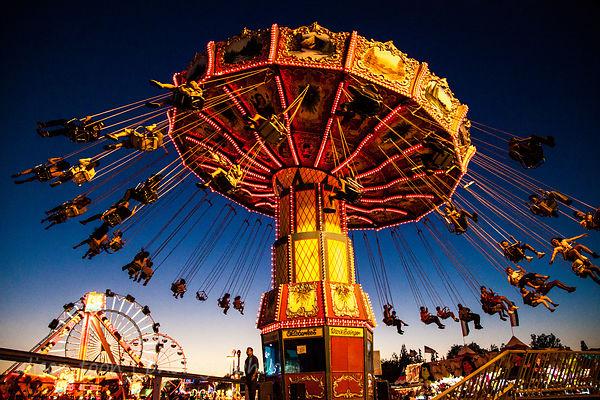 Wave Swinger ride, California State Fair