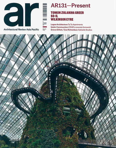Architectural Review - Asia Pacific Cover