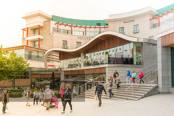 Spiceal Street at the Bullring Shopping Centre, Birmingham, England