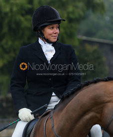 Vix Welton at the meet - The Cottesmore at Barleythorpe.