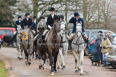 The Cottesmore Hunt at Stapleford Park 9/2 photos
