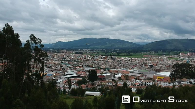 Zipaquira City in Central Colombia