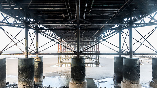 Beneath Cromer Pier