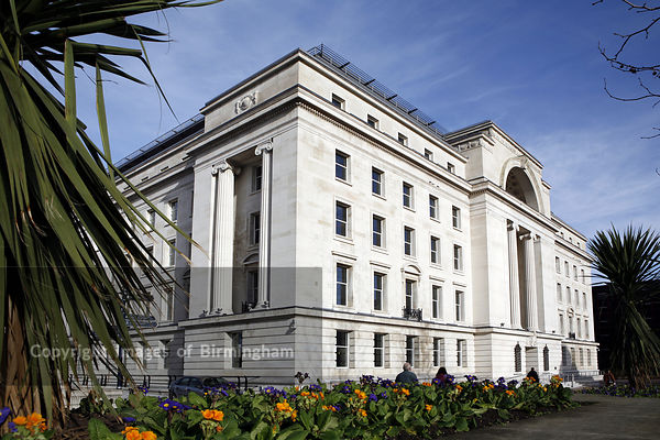 Baskerville House in Centenary Square, Birmingham England, UK