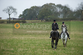 Peakes Covert - The Cottesmore Hunt meet in Somerby 6/11