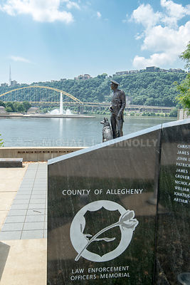 Fallen Police Officers Memorial- Pittsburgh, Pennsylvania