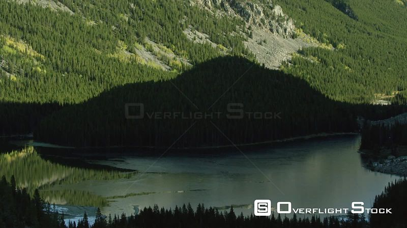 Silver Lake sits in a steep valley in the Beartooth mountain Range, in southwestern Montana