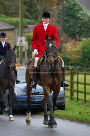 Nicholas Leeming MFH - The Cottesmore Hunt at Tilton on the Hill 10/11/12