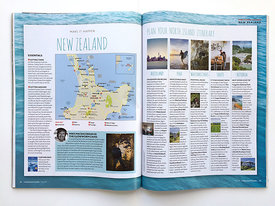 New Zealand Campervan trip, shot on commission for Lonely Planet Traveller magazine